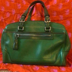 Green Coach Arm Bag
